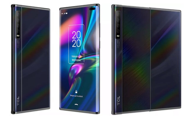 Images of TCL's slide-out display smartphone surface in wake of MWC cancellation – TechCrunch