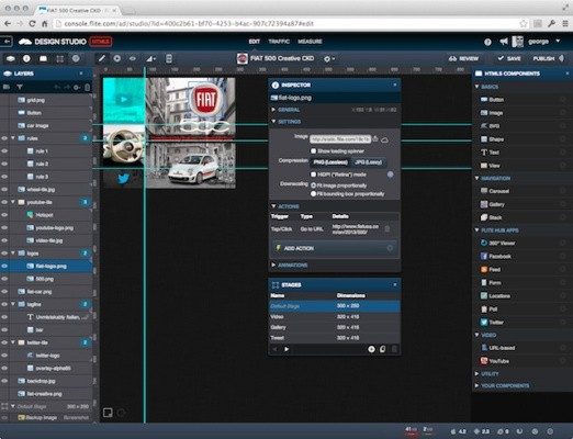Flite Launches A Free Online 'Design Studio' For Building HTML5 Ads