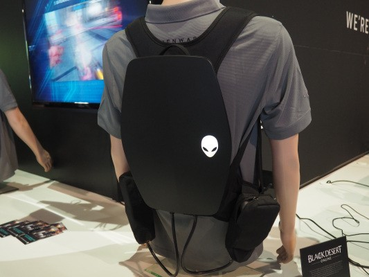 Alienware is also working on one of those VR backpacks