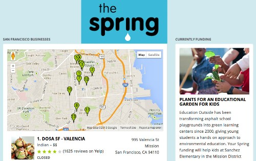 Update: The Spring Shuts Down Its App For Funding Social Good And Earning Cash Back By Dining Out