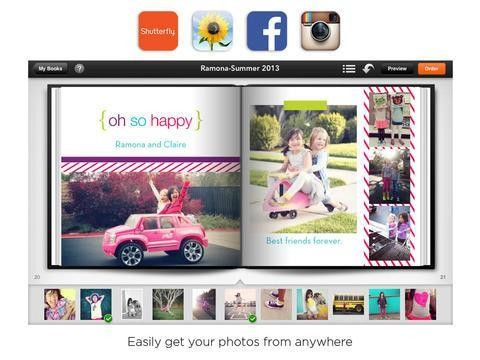 Shutterfly Debuts Its Own Photo Book Maker For iPad, Shutterfly Photo Story