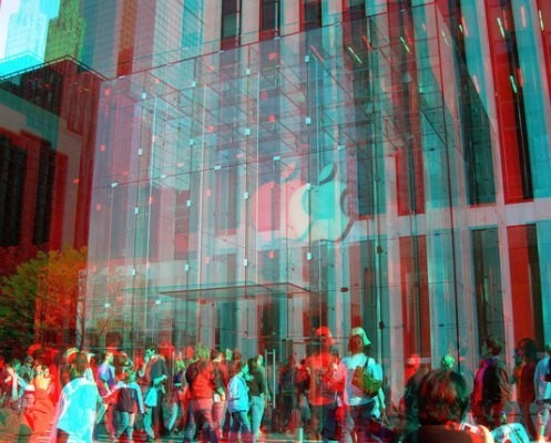 Apple Patents A 3D Hologram Display System With Gesture Input