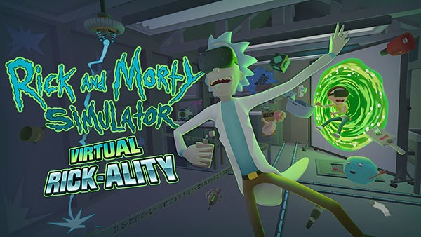 Rick and Morty is coming to virtual reality