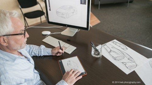 The ISKN Slate Is A Smart Surface To Digitize Your Sketches Without Even Realizing It
