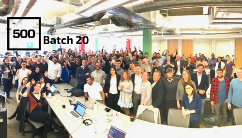 Here's the 20th batch of 500 Startups companies