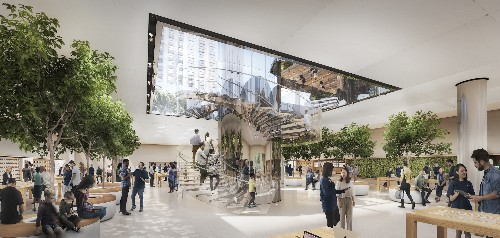 Natural lighting is the key to Apple's remodeled Fifth Ave. store