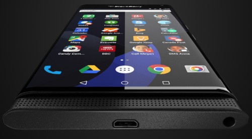 Is this BlackBerry's First Android Phone?