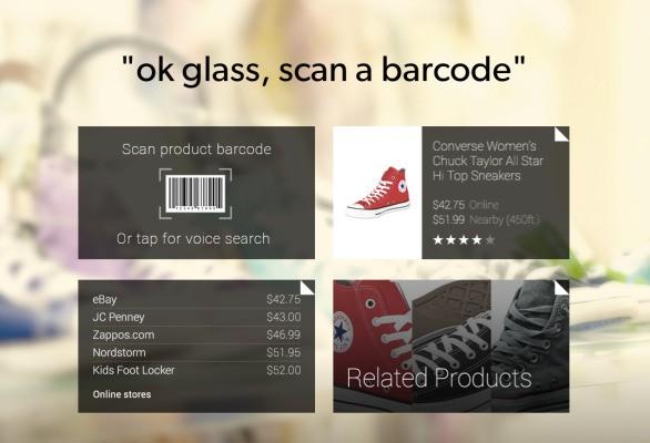 For Its First Google Glass Effort, EBay Adapts Its RedLaser Product Finder App