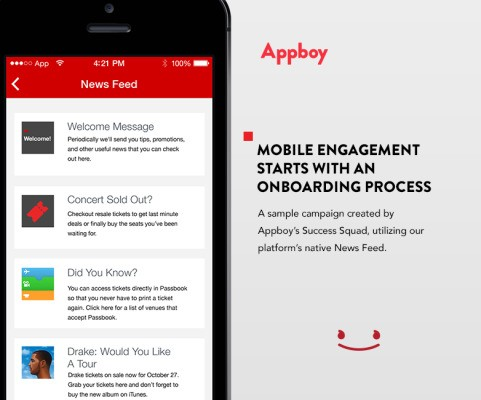 Marketing Automation For Mobile Company Appboy Grabs $15 Million More