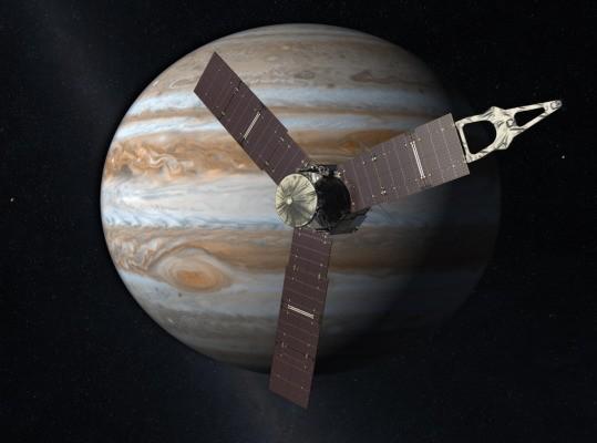 After five years, Juno arrives in orbit around Jupiter