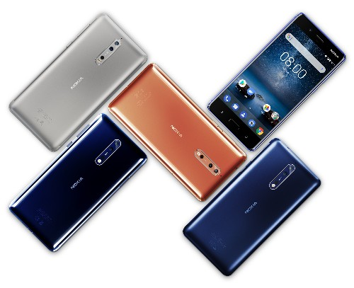 Android newbie HMD's Nokia 8 flagship lets you livestream 'frontbacks'