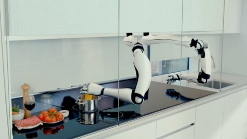 A Pair Of Robot Hands To Help In The Kitchen