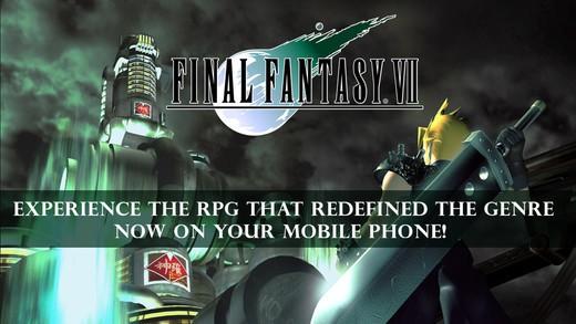 Final Fantasy VII Comes To iOS