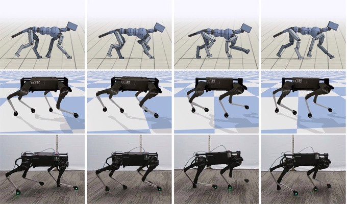 Google research makes for an effortless robotic dog trot – TechCrunch
