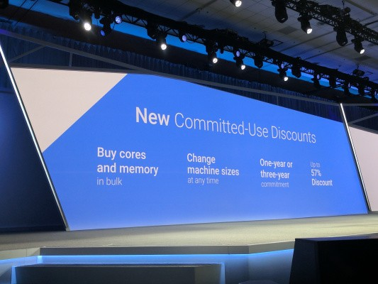 Google launches committed-use discounts for its Cloud Platform