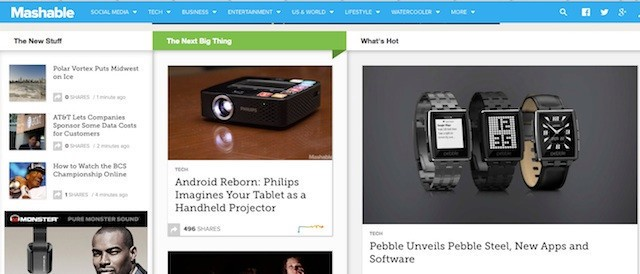 Mashable Raises $13M In Its First Outside Funding