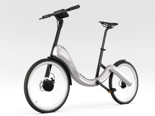 The JiveBike Is A Fold-Up Electric Bike With Style