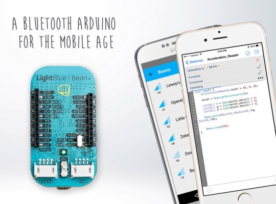 LightBlue Bean+ Is An Arduino Board With Bluetooth Built-In