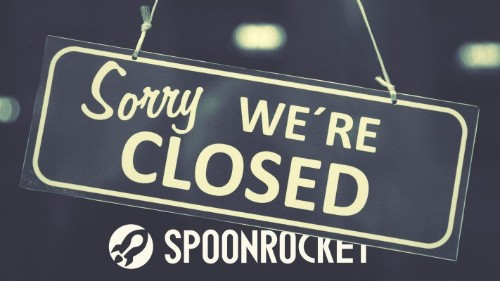 SpoonRocket shuts down amongst on-demand apocalypse