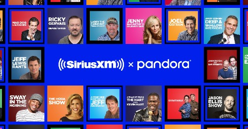 Nearly two dozen of SiriusXM's talk shows come to Pandora as podcasts