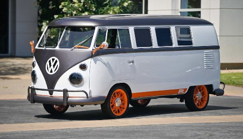 Volkswagen and Autodesk turned a vintage Microbus into a tech design showcase