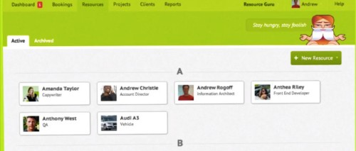 Index Leads $870K Seed Round For Resource Guru's Cloud-Based Team Scheduling App