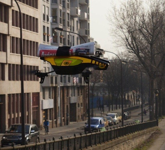 Drones Will Deliver The Morning Paper In France