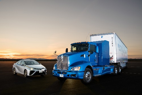 Toyota Mirai's fuel cell system scales up for semi trucks