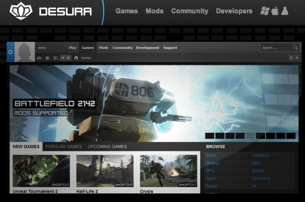 Second Life Maker Linden Lab Buys Desura For Games Distribution, Plans To Keep It Open