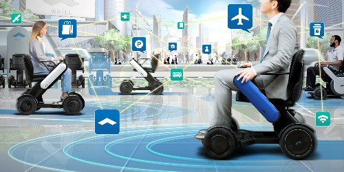 WHILL brings its autonomous wheelchairs to North American airports
