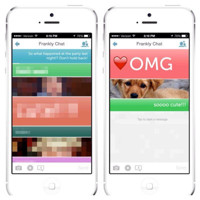 Ephemeral Messaging App Frankly Updated To Give Users More Control Over Their Text