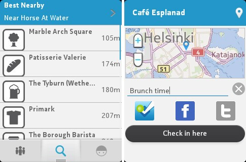 Foursquare Checks In With Feature Phones: A New App For Nokia S40 Phones And An Asha Preloading Deal