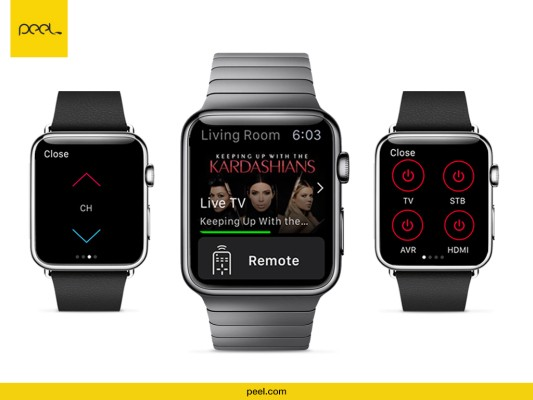 Peel Turns Your Apple Watch Into A Universal Remote Control