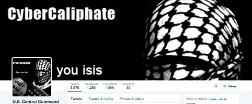 "ISIS ""Cyber Caliphate"" Hacks U.S. Military Command Accounts"