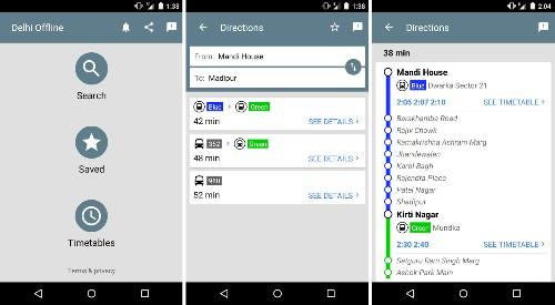 Google Releases 'Experimental' Public Transport App For Delhi, India