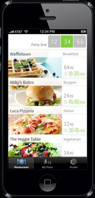 NoWait, A Mobile Replacement For The Restaurant Buzzer, Launches Its Consumer App