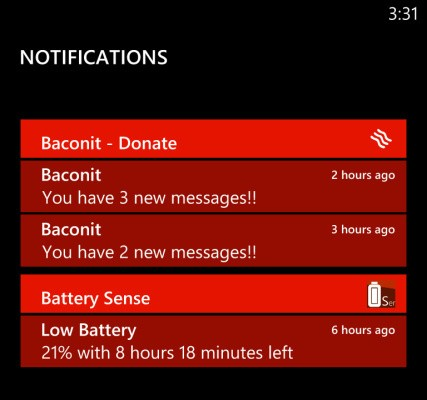 Windows Phone 8 Reportedly Gained A Notification Center Before Losing It Again