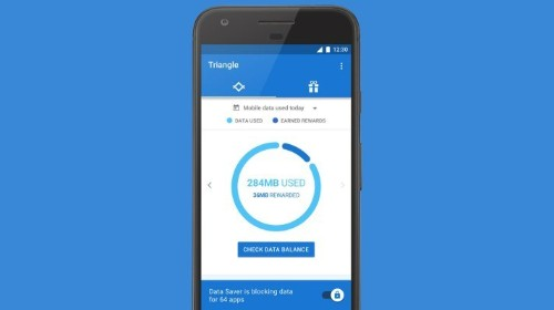 Google's new experiment, Triangle, lets you block individual apps from using mobile data