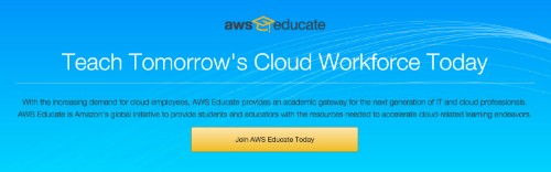Amazon ramps up AWS Educate with free e-learning and job ads