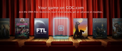 GOG.com Opens A New Indie Developer Portal As It Looks To Broaden Its DRM-Free Games Catalogue