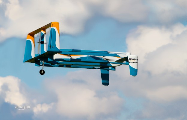 Amazon Shows Off New Prime Air Drone With Hybrid Design