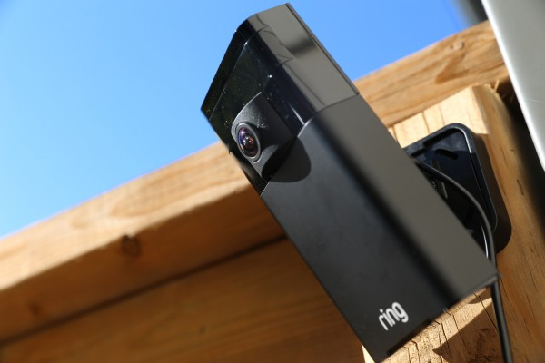 Ring Stick Up Cam and Solar Panel combo provides peace of mind