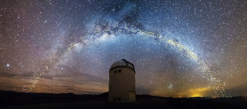 The galaxy is not flat, researchers show in new 3D model of the Milky Way