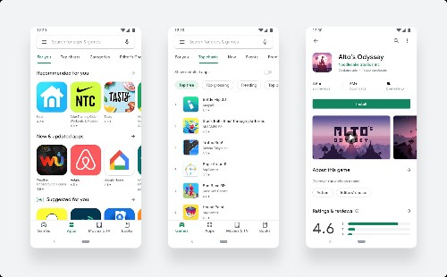 Google updates to a cleaner, simpler Play Store design [Updated]