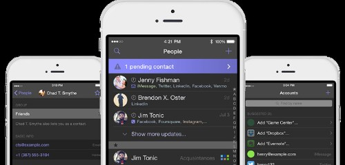 Accounts Launches A New Address Book For iOS That Tracks Your Many Identities