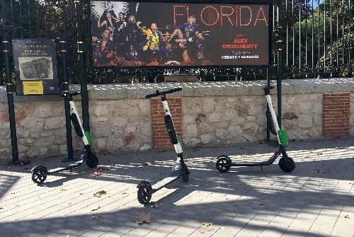 A tale of two scooter cities