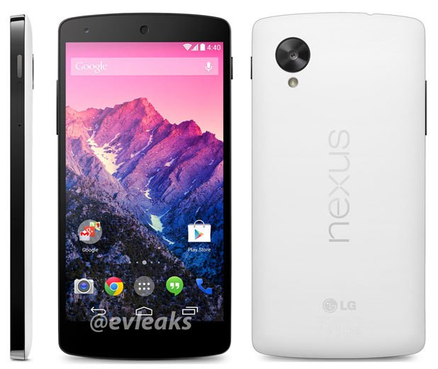 The Nexus 5 Gets A New Color And A New Rumored Launch Date