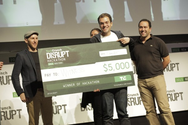 Witness Wins The Disrupt NY 2015 Hackathon Grand Prize, Picorico And MoolahMe Are Runners Up