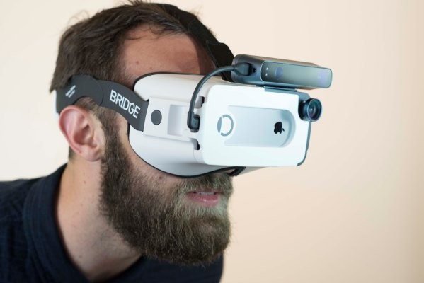 Occipital shows off a $399 mixed reality headset for iPhone
