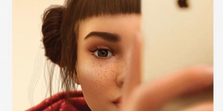 Virtual Humans And Idols - Magazine cover